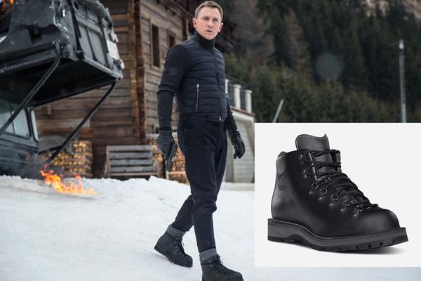 Danner Boots in Spectre James Bond