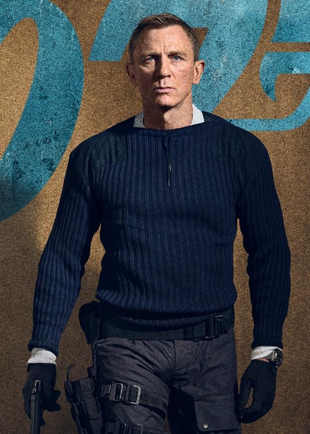 npeal cashmere sweater james bond