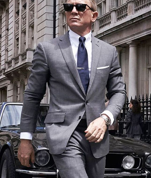 daniel craig gray suit from no time to die