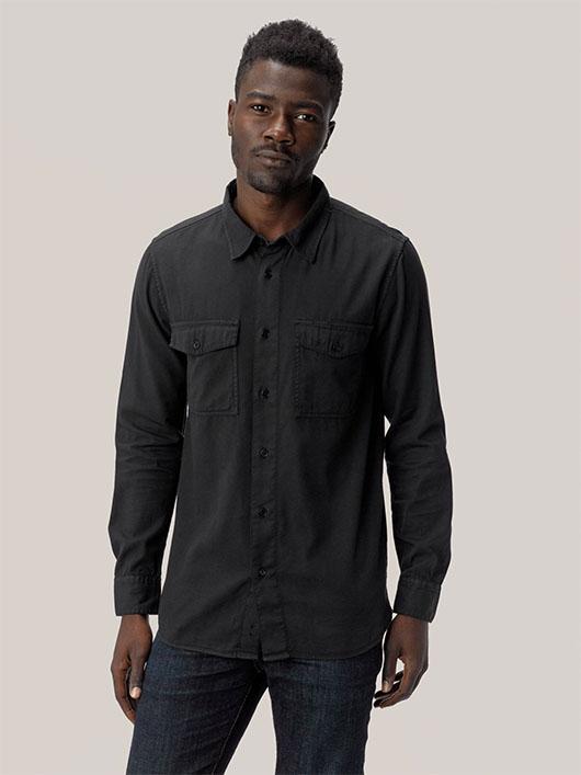 buck mason two pocket shirt