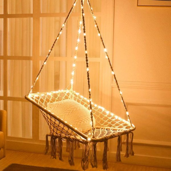 hammock chair lights balcony makeover.jpg