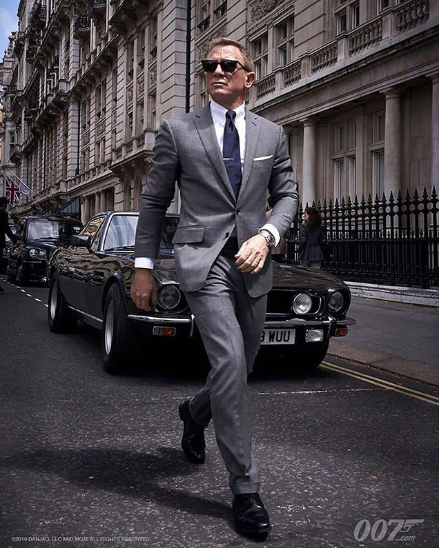 james bond gray suit no time do die