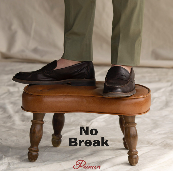 no break pant hem