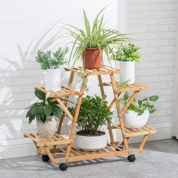 plant stand tiered balcony makeover
