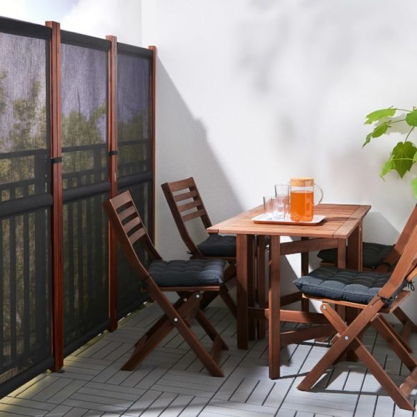 privacy screen balcony makeover
