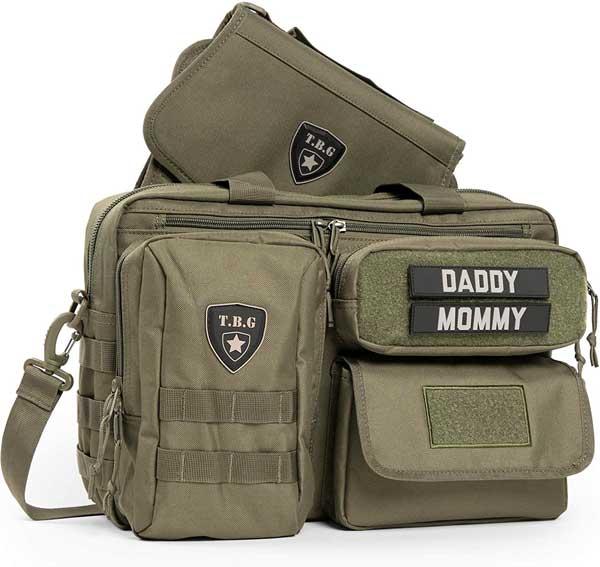 men's military diaper bag