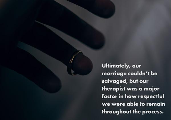 wedding ring sliding off finger divorce