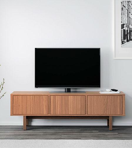 ikea-walnut-media-console-high-low