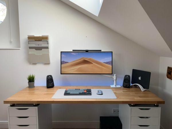 ikea setup ikea desk hack