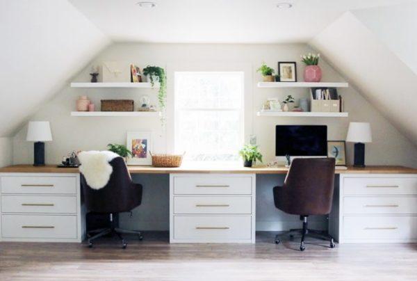 jones design ikea desk hack