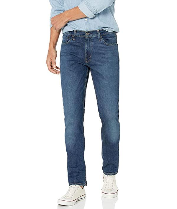 levi's men's 511 slim fit blue jean