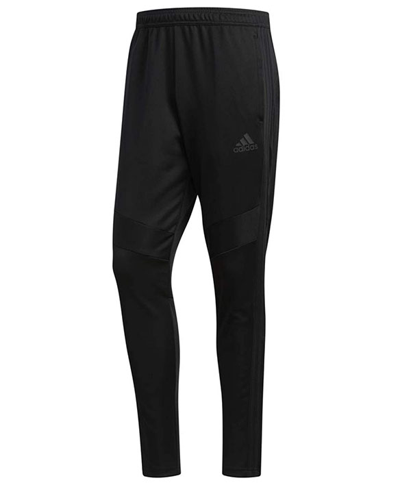 Adidas men's black training pants