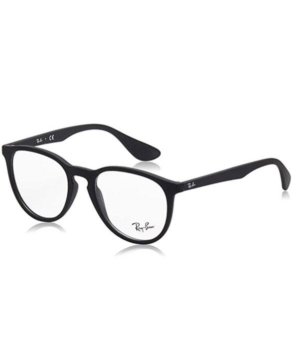 men's rectangular prescription eyeglass frames from Ray Ban