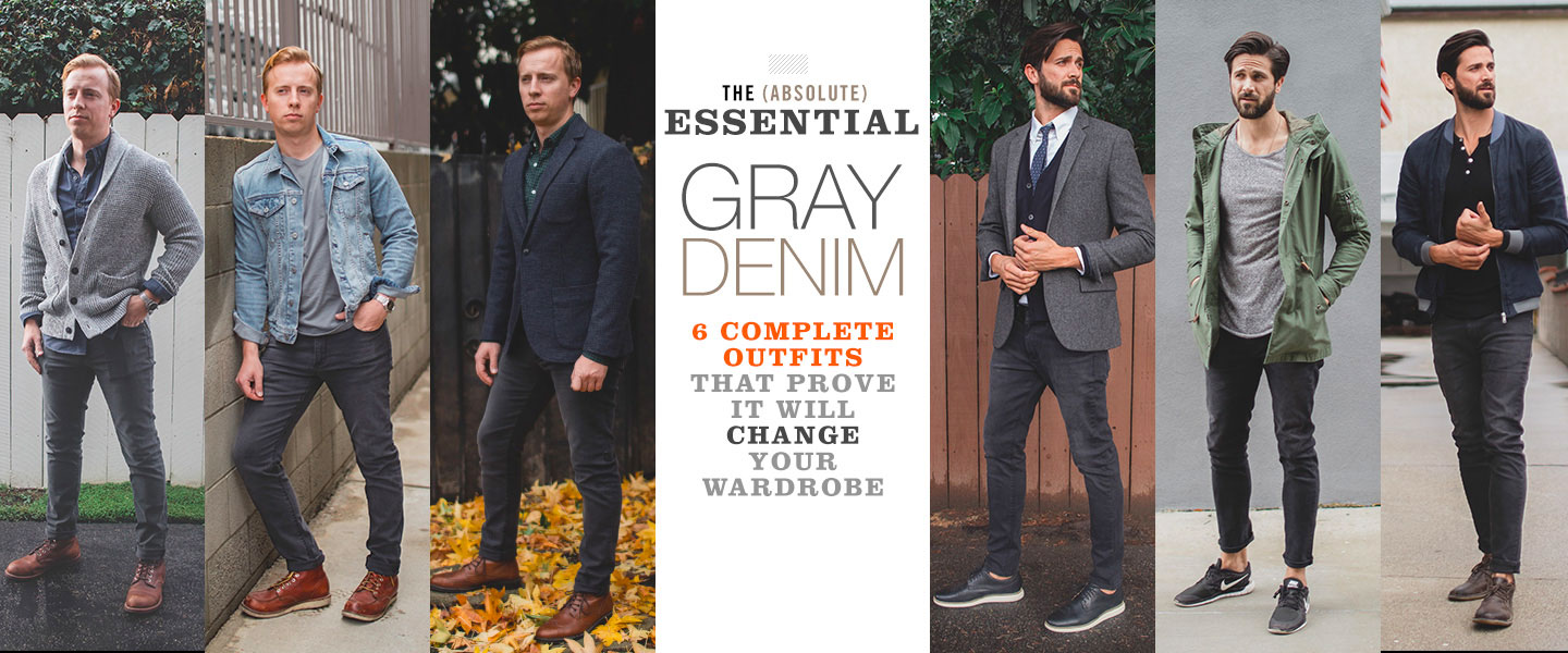 The Essentials: Gray Denim – 6 Complete Outfits That Prove It Will Change Your Wardrobe
