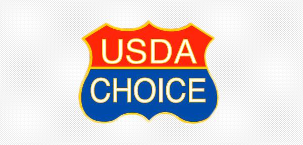 USDA Choice shield