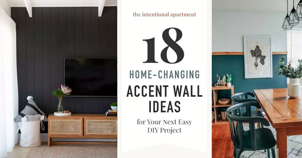 18 Home-changing Accent Wall Ideas for Your Next Easy DIY Project