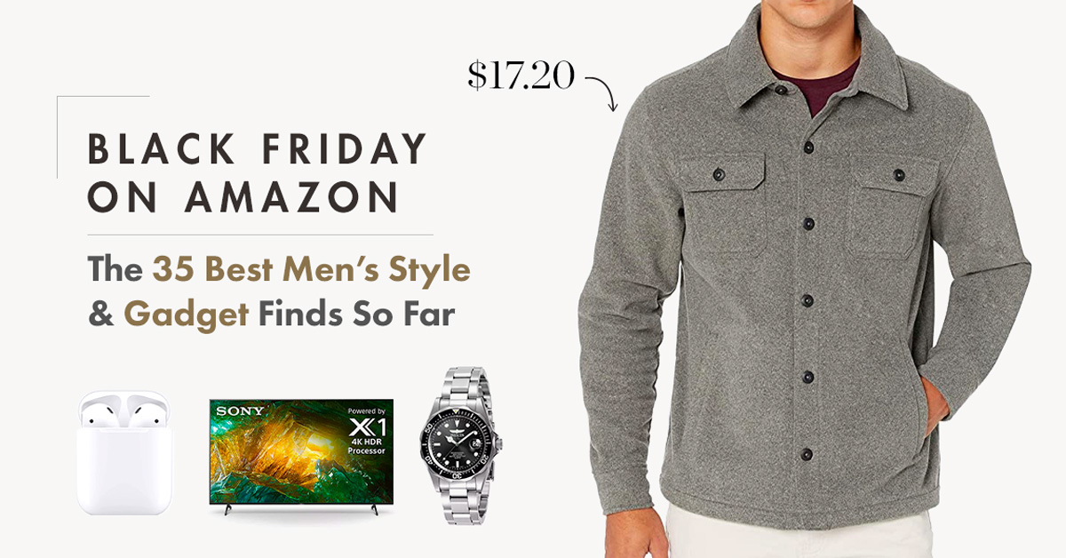 Black Friday on Amazon: The 35 Best Men's Style & Gadget Finds So Far