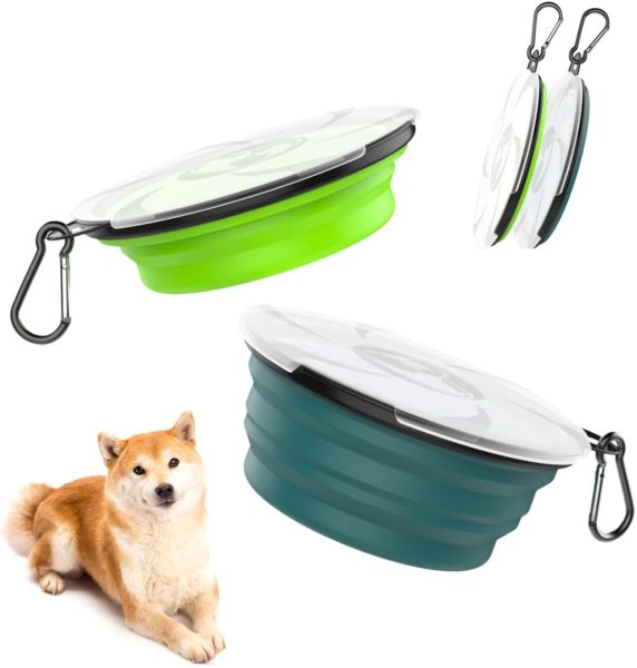 collapsible dog bowls from the Lewondr Store