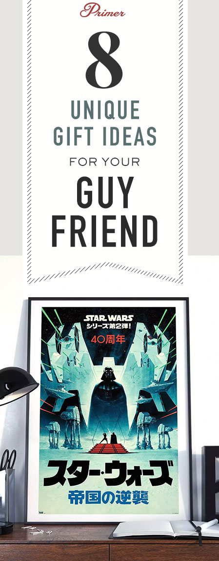 Unique gift ideas for guy friends