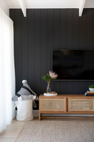 shiplap wall accent wall