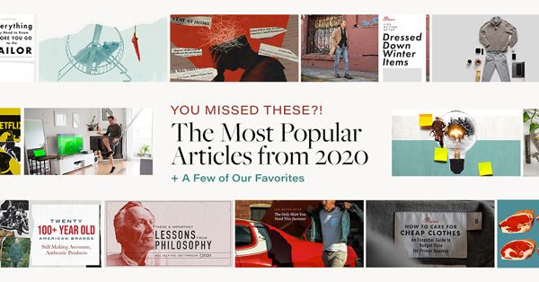 You Missed These?! The Most Popular Articles from 2020 + A Few of Our Favorites