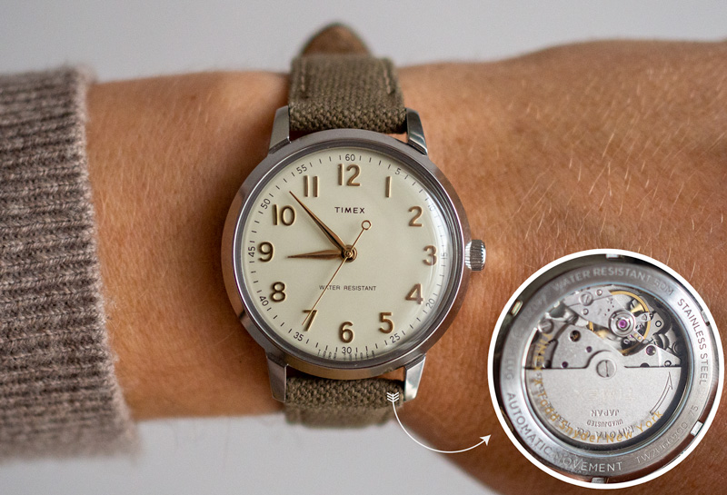 Relógio Timex x Todd Snyder LIquor Store