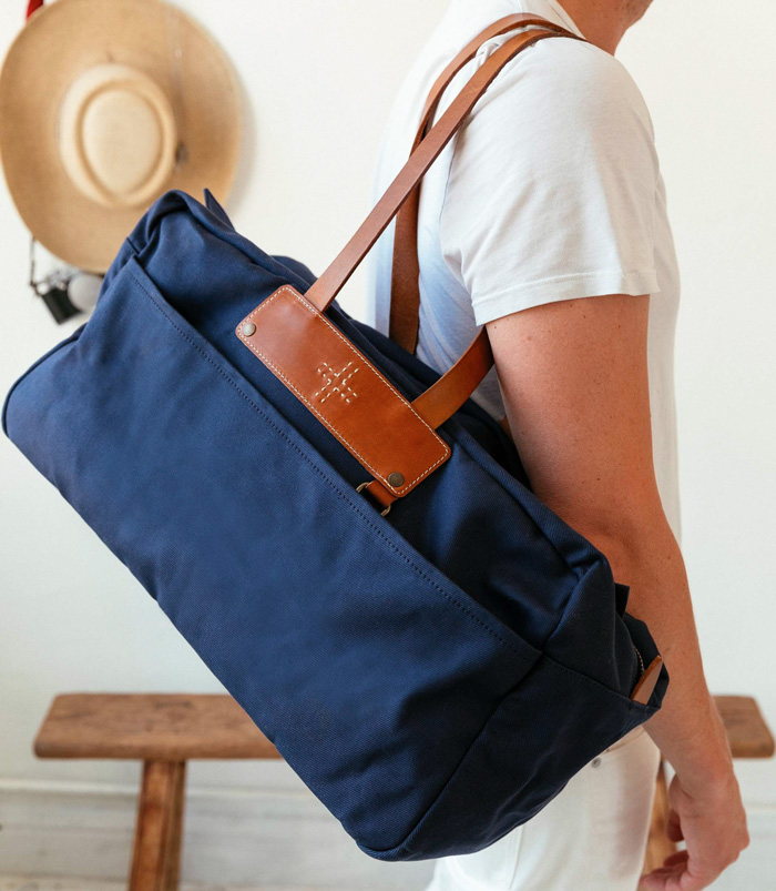 WP Standard blue weekender bag