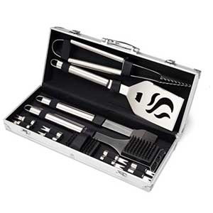 16 piece bbq grill cooking set