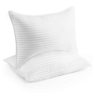 two pack of gel pillows from beckham