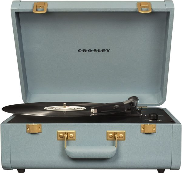 suitcase turntable with speakers