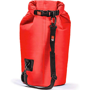 ice mule hands free cooler in red