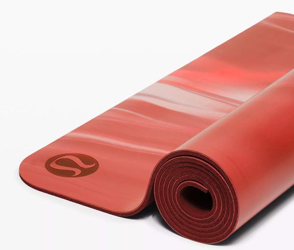 lulu lemon reversible yoga mat