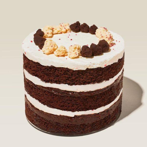 peppermint bark cake from milk bar desserts