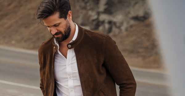 This is the Leather Jacket Style Every Guy Can Pull Off