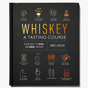 whiskey a tasting course book cover