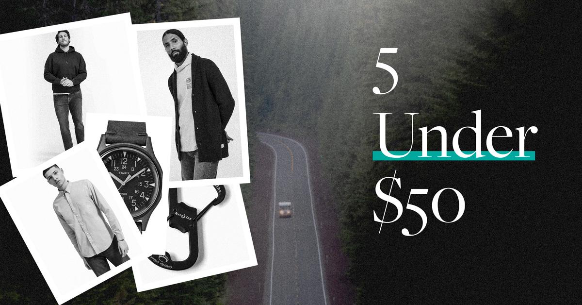 5 under $50 photo collage