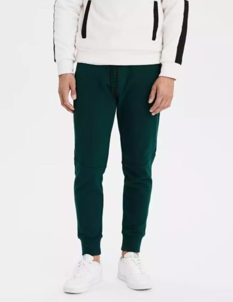 american eagle fleece jogger pants for men