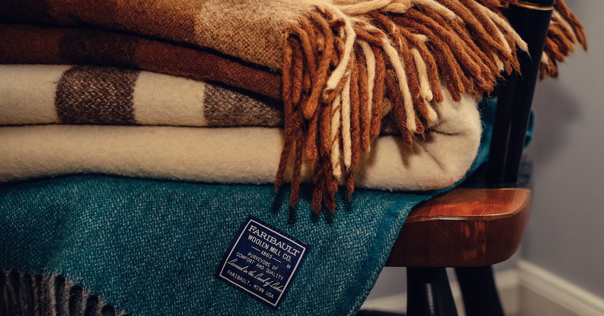 Winter is Officially Here: It's Time for a Wool Blanket + 6 Picks