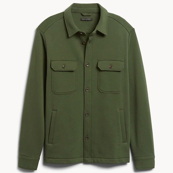 banana republic shirt jacket