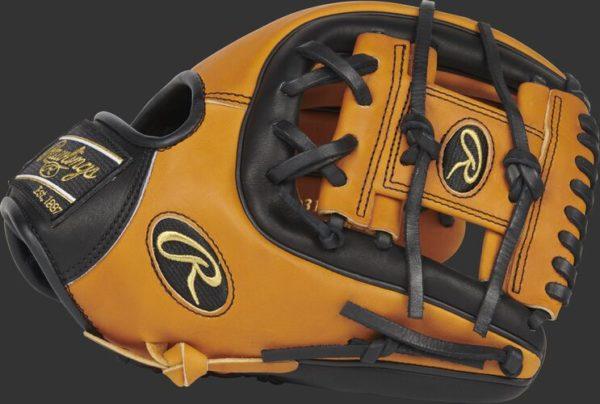 rawling leather horoween baseball glove