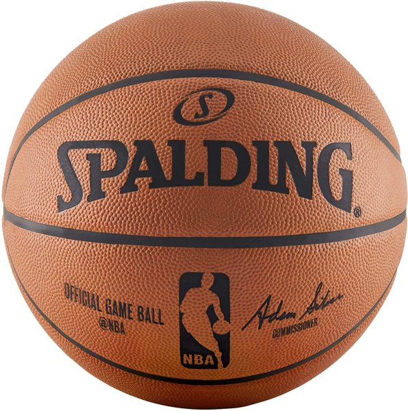 spalding horoween leather game ball