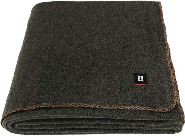 ektos 100 percent wool blanket