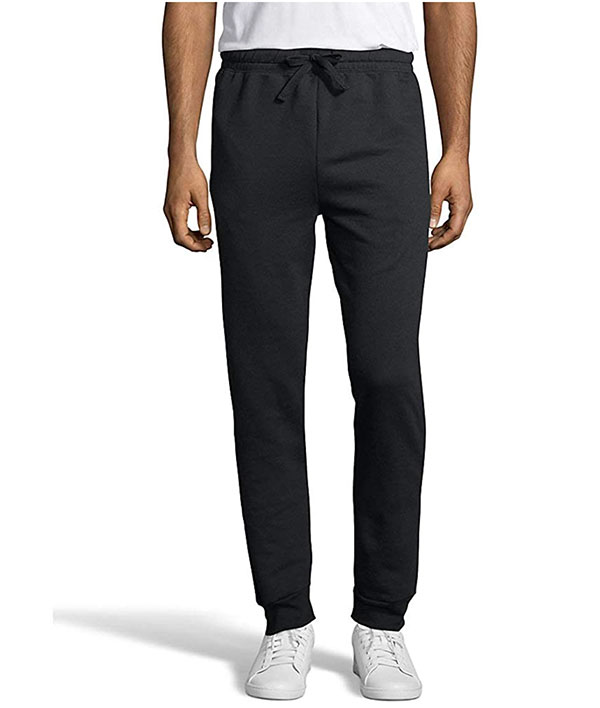 black hanes sweatpants