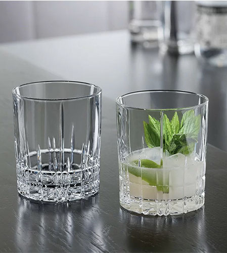 crystal whiskey glasses from wayfair