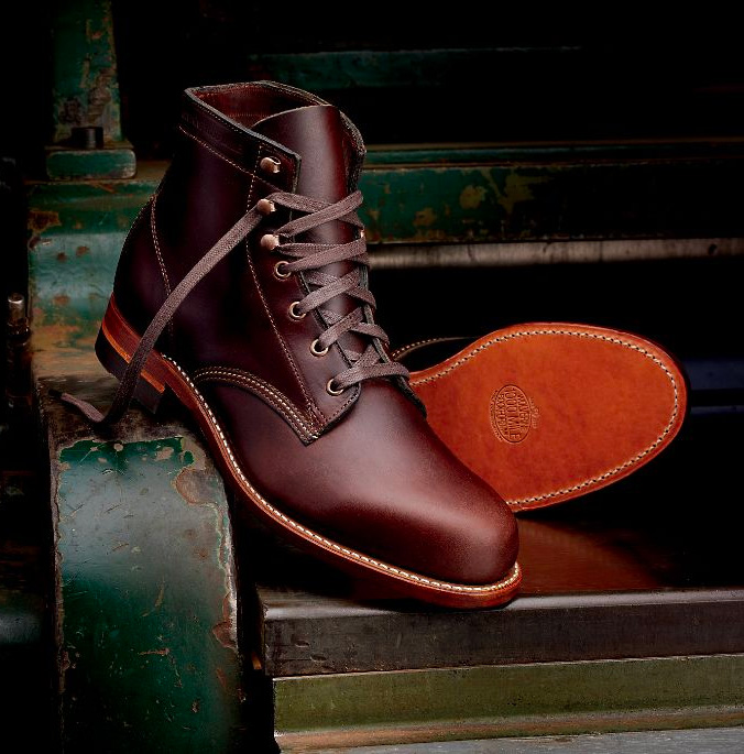 wolverine 1000 mile boot horween chromexcel leather