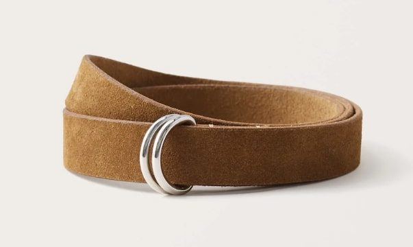 suede belt from abercrombie and fitch