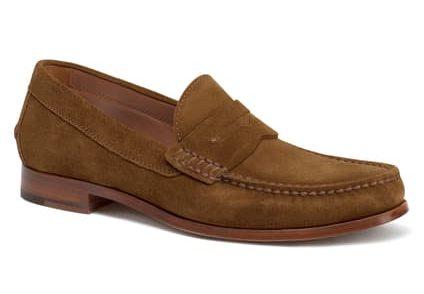 trask sadler penny loafer shoe