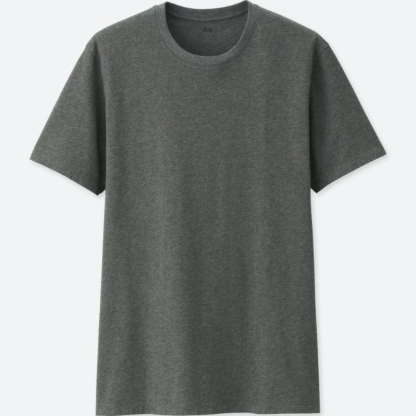 uniqlo crew neck short sleeve cotton shirt