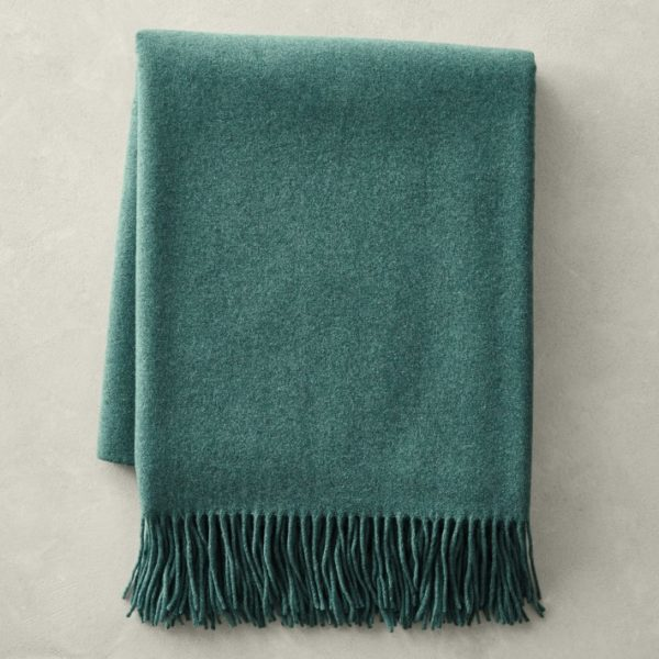 cashmere wool blanket from williams and sonoma