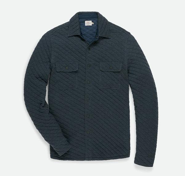 jaqueta camisa faherty